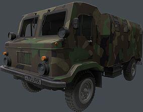 GAZ 66-02 3D model model