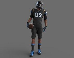 American Football Player 3D model