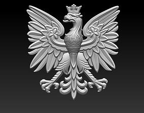 Eagle flat 3D printable model