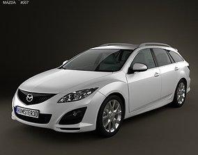 Mazda 6 Wagon 2011 3D