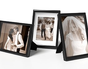 Generic Photo Frames 3D model