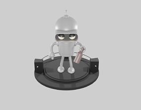 Futurama Bender Robot 3D print model