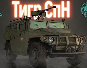 GaZ Tigr SpN 3D model