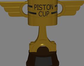 Piston Cup interpretation from cars 3D print model
