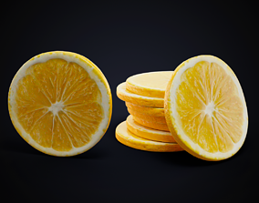 3D model Lemon slice