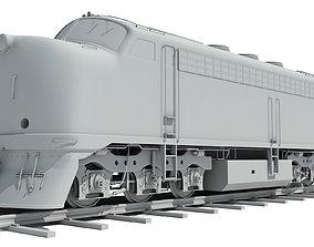 Train Locomotive Models 3D