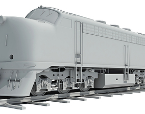 Train Locomotive Models 3D