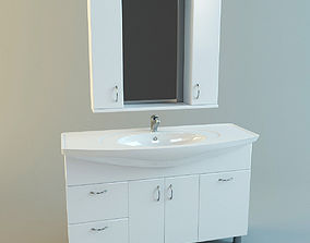 Bathroom vanity set 4 3D model