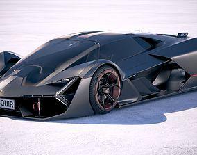 Lamborghini Terzo Millennio 2018 3D model