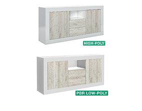3D model Sideboard - Alcor