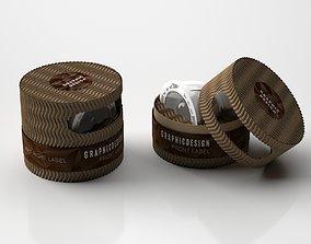 3D CARDBOARD PACKAGING FOR LIGHT