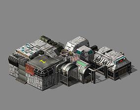 Future World - Machinery 01 3D model