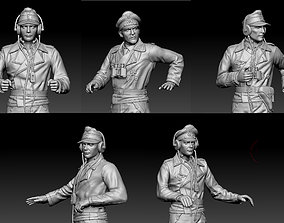 3D printable model walkie German officers