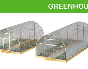 3D conservatory Greenhouse
