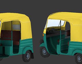 Auto Rikshaw 3D asset