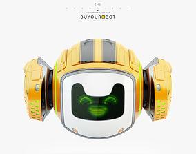 Dog walker VII bot 3D model