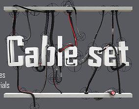 3D model cable set 01