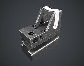 Scope Trijicon RMR Combat Sight 3D asset