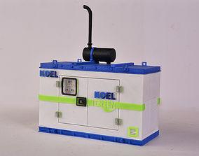3D Printed Diesel Generator Miniature 3dprint