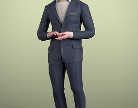 3D asset Andrew 20214-06 - Animated Walking Man