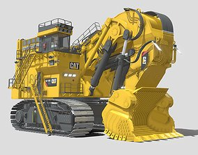 3D Caterpillar Excavator 6190FS