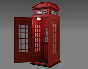 UK Phonebooth 3D model