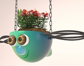3D print model Flowerpot For Childrens - Beautiful Hanging