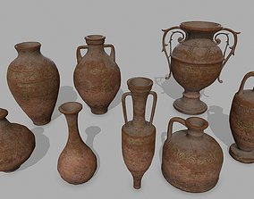 vase set 3D asset