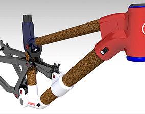 Frame MTB Full Suspension GB2 3D