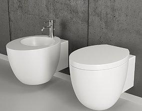 Ceramica Cielo Le Giare Wall-Hung WC 3D
