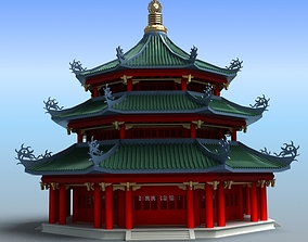 Chinese Architecture 02 3D model