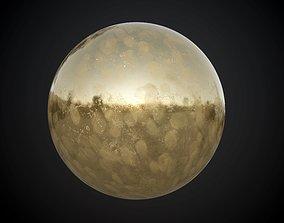 Metal Brass Seamless PBR Texture Grunge Dirt 3D