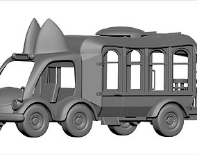 Toy Truck 3d Print Model transportation