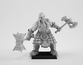 3D printable model Slayer Dwarf
