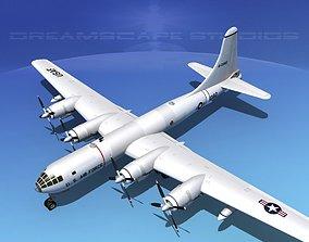 Boeing B-50 Superfortress V10 3D model