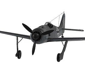3D asset Focke Fulf FW-190