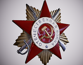 3D model Order of the Patriotic War