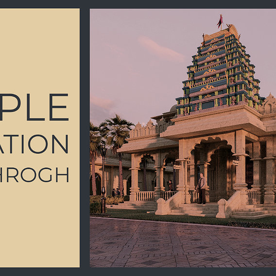 INDIAN TEMPLE ANIMATION