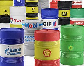 Oil barrel oil 3D