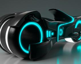 Tron Legacy Motorcycle 3D model