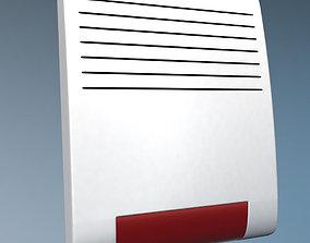 Wireless alarm beacon 3D