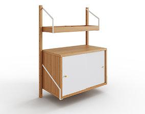 SVALNAS Wall-mounted storage 3D model