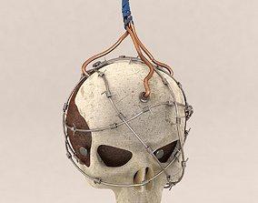 3D Skull Bomb Variant 3 projectile