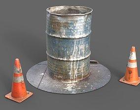 55 Gallon Barrel 3D model