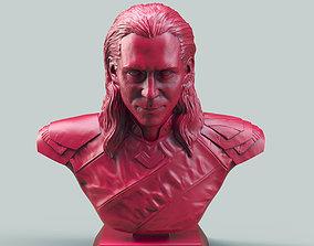 3D printable model Loki Bust ragnarok