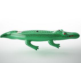 inflatable crocodile 3D model