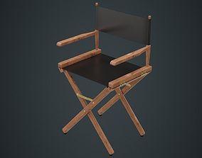 Directors Chair 1A 3D model