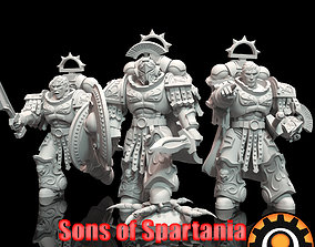 3D printable model Sons of Spartania Spartania Polemarch