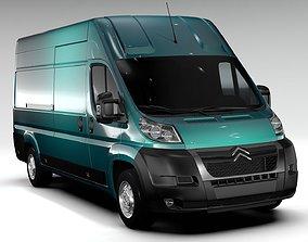 Citroen Relay Van L4H3 2006-2014 3D model