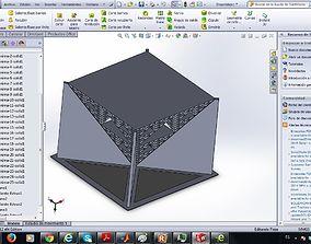 Sierpinski piramid 3D asset